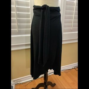 GAP Softspun Wrap Midi Skirt